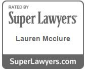 Lauren McClure Super Lawyer Logo
